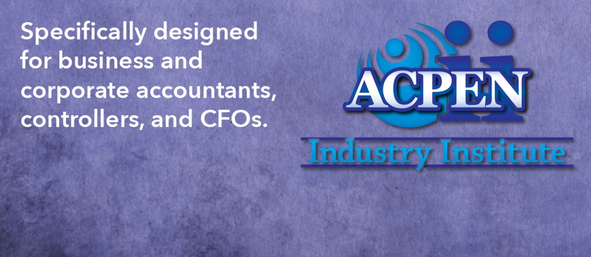 Specially designed for business and corporate accountants, controllers and CFOs.